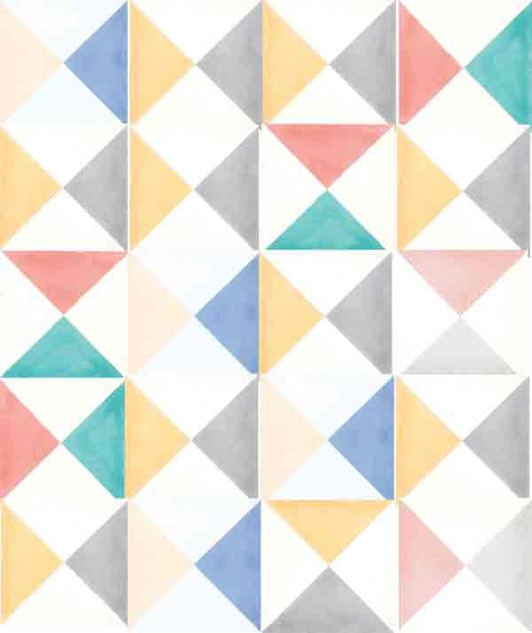 Encaustic patterned tiles
