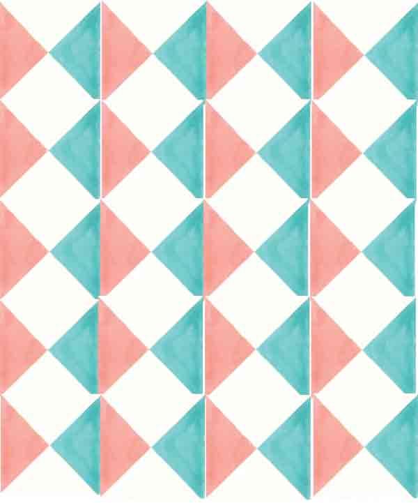 Encaustic hand made tiles
