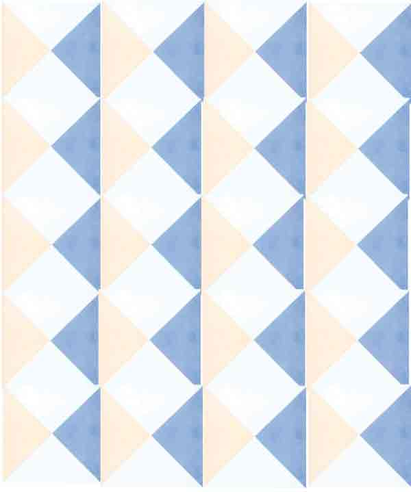 Encaustic patterned tiles
