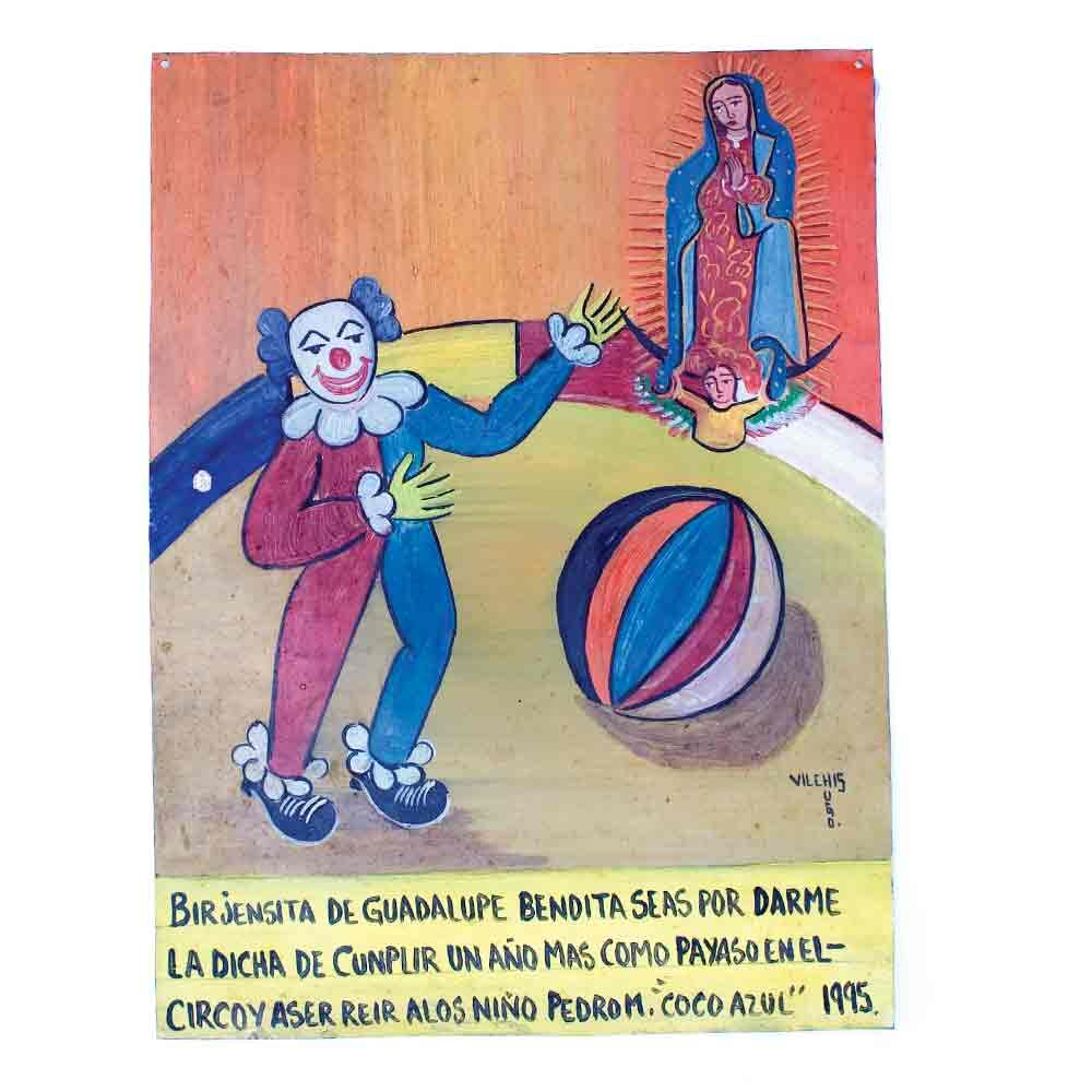 Retablo clown