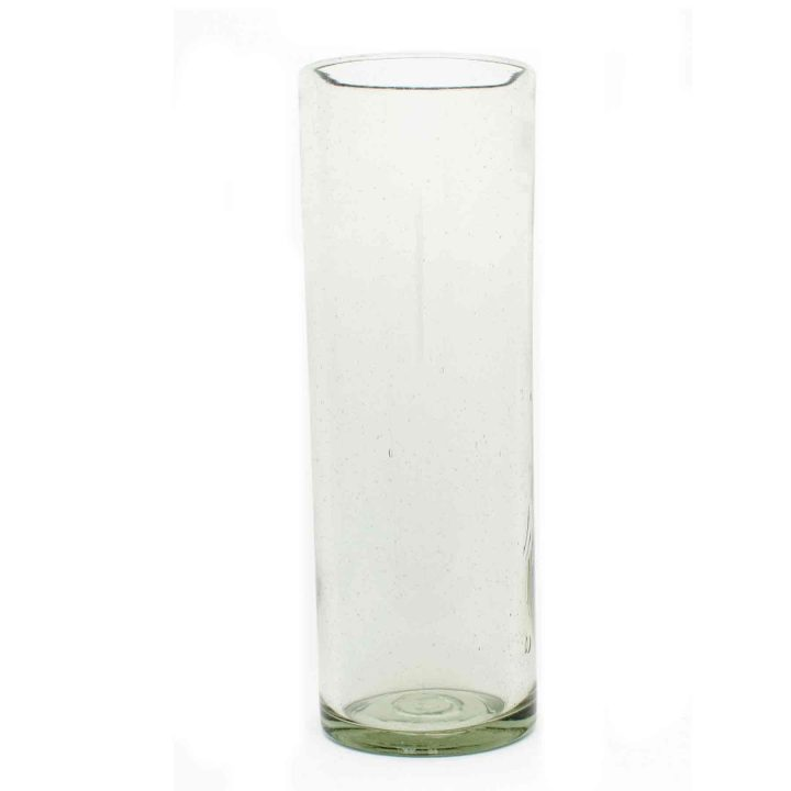 clear vase 15 x 45cm