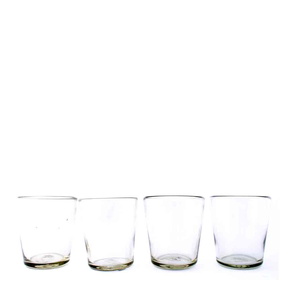 clear flared roca tumbler