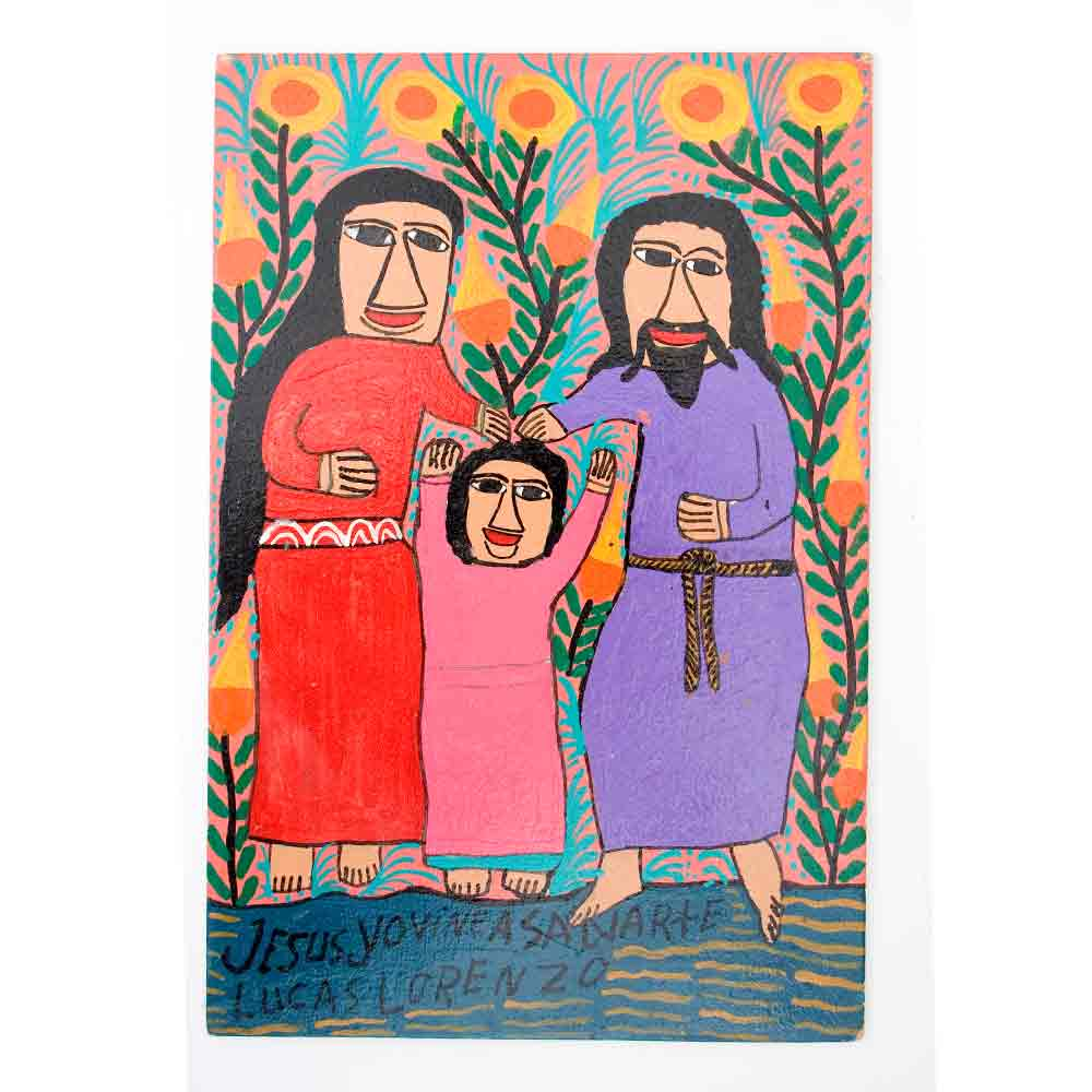 family saint paintings.