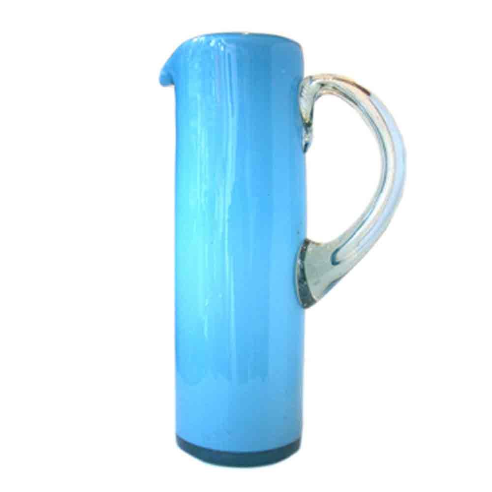 milky turquoise straight jug