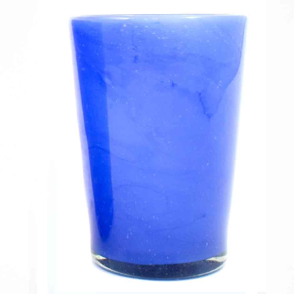 milky blue tumbler.