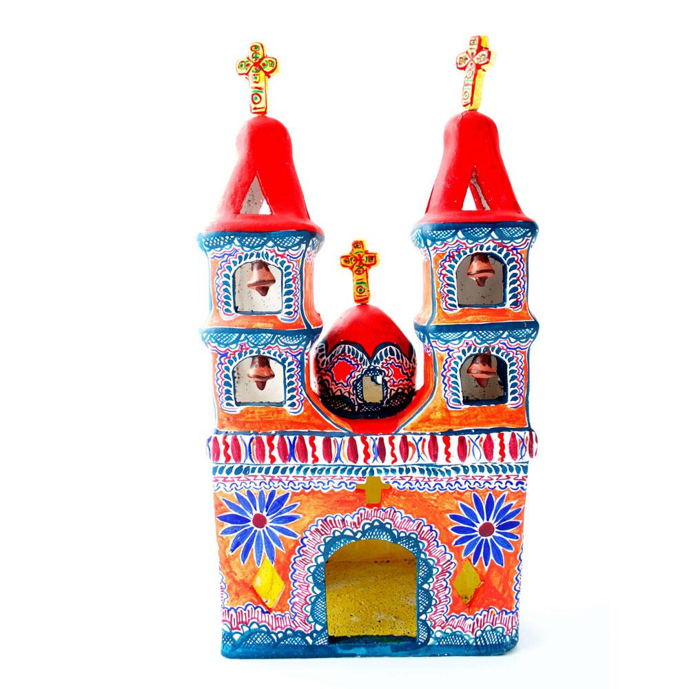Mexican church folk art