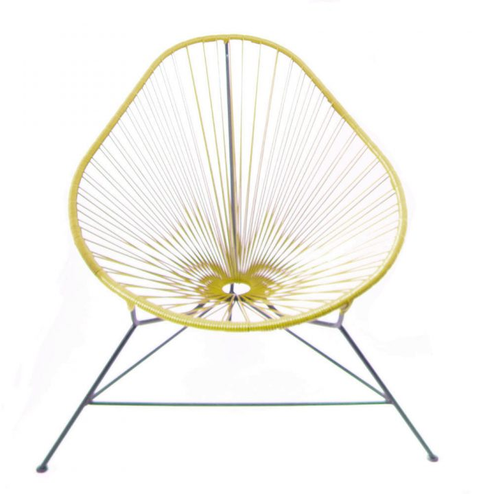 Gold acapuloc chair