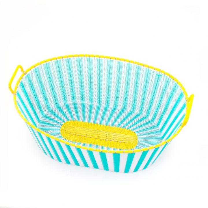pistachio green ironing basket