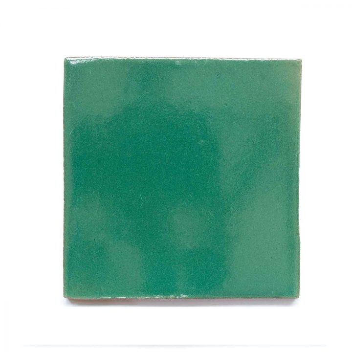 mexican green inset tiles