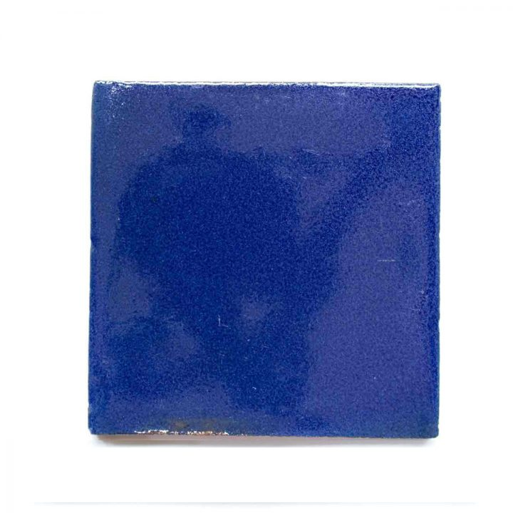 inset blue cobalt blue tiles