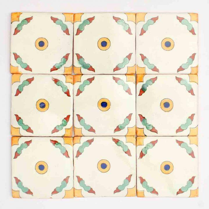 Guadalajarra field hand made tiles