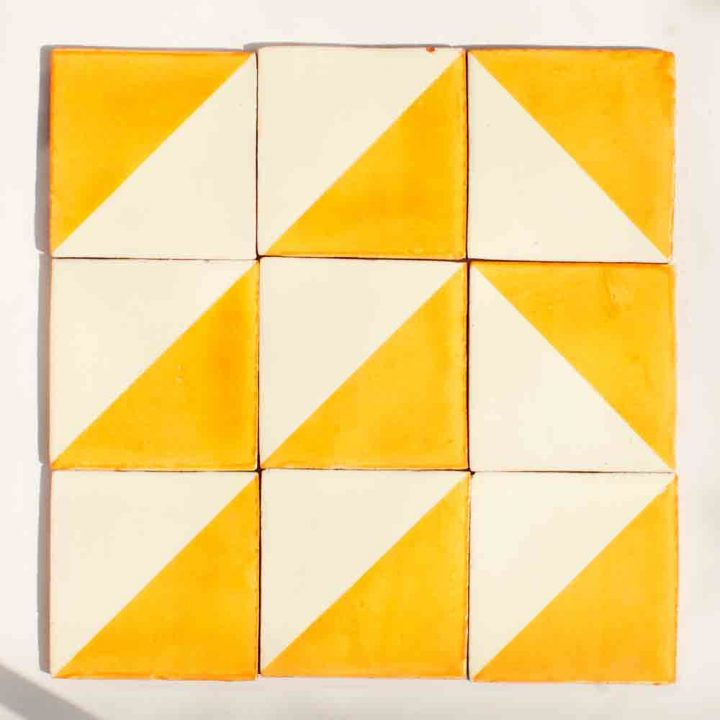 harlequin gold tiles