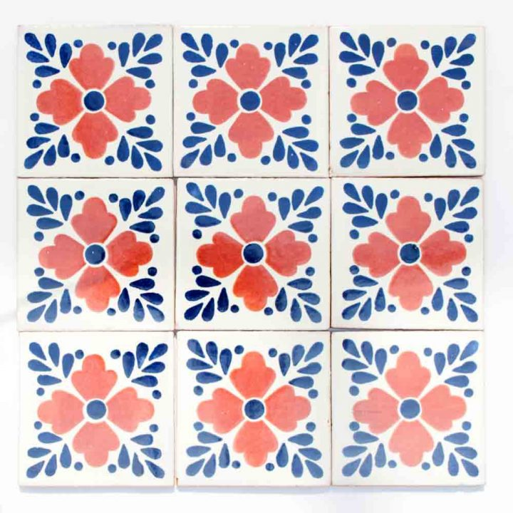 lester hand made Mexican wall tiles