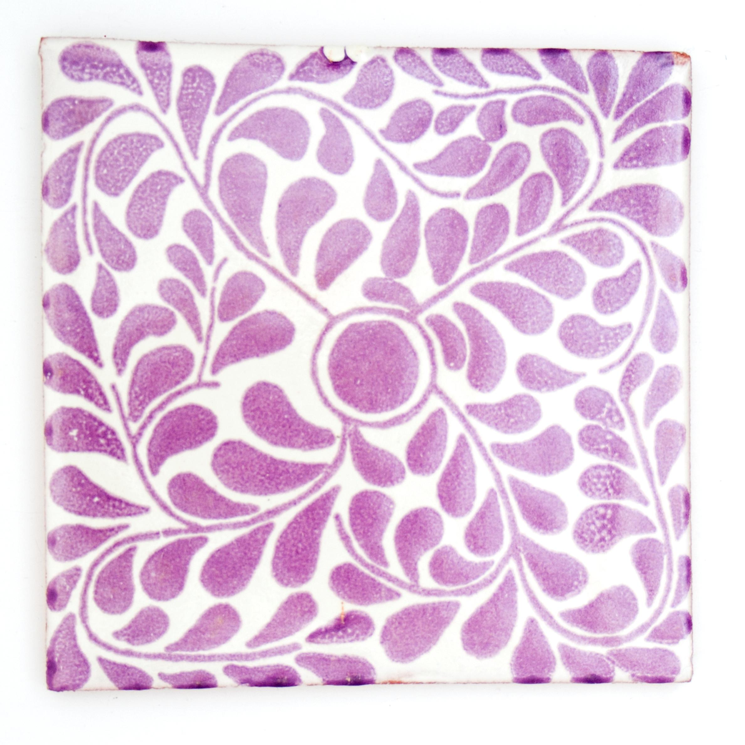 capelo lilac hand made tiles