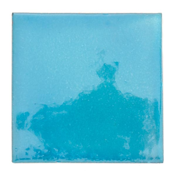 sea blue hand made tiles