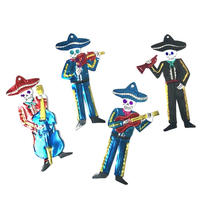Tin mariachi hand made in Mexico