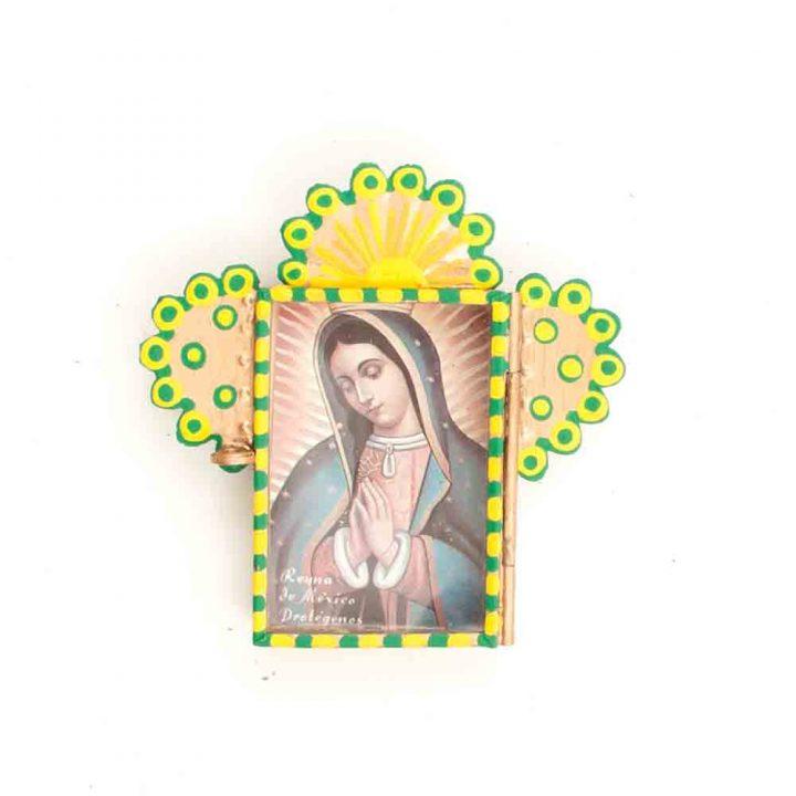 Virgin Mary niche