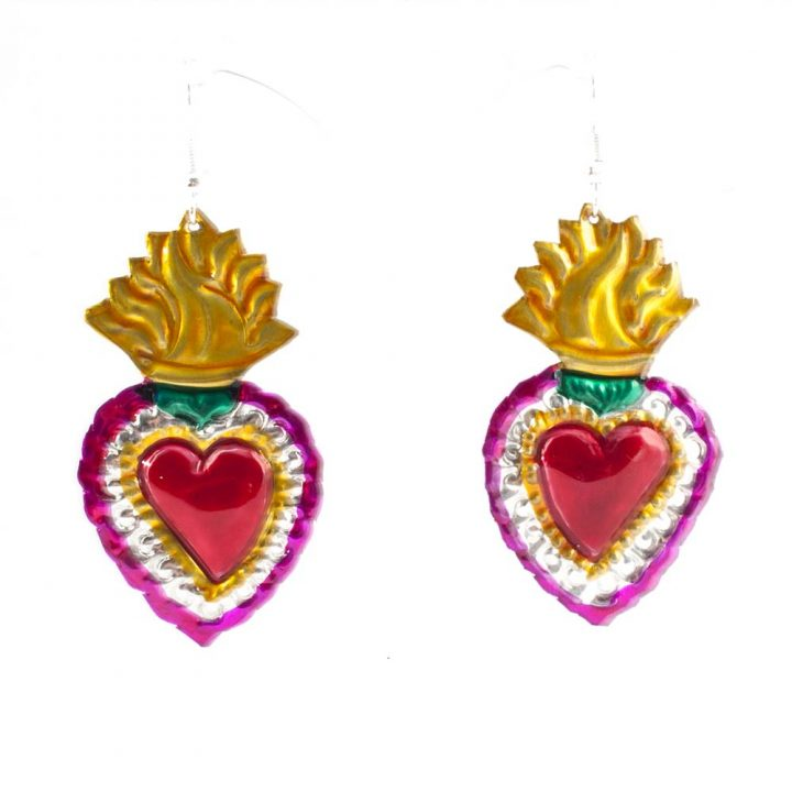 Sacred tin hearts