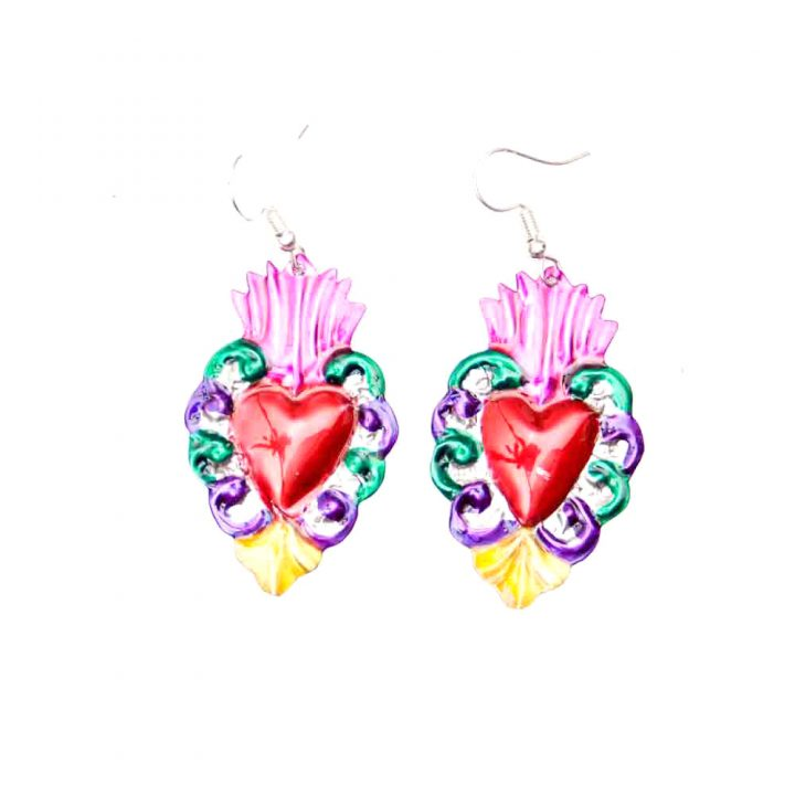 Mexican jewellery earrings