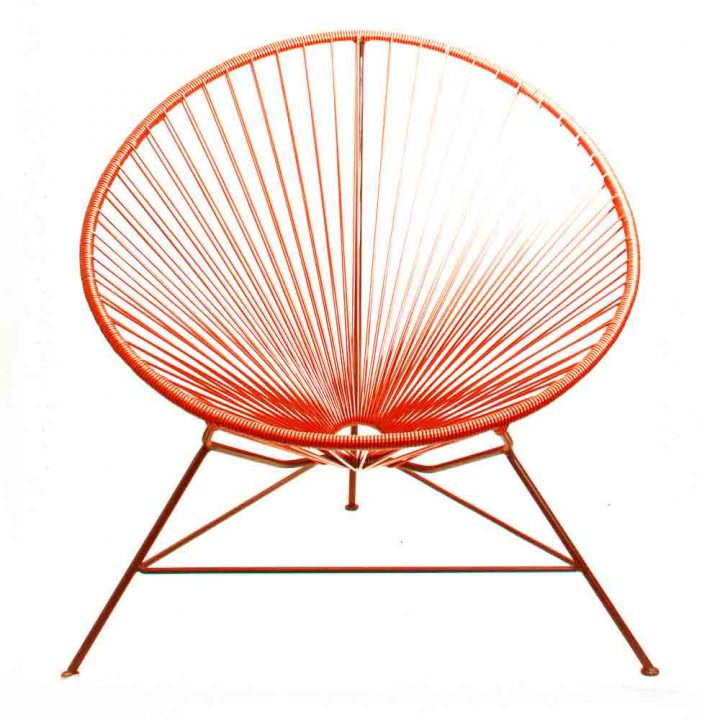 Orange Acapulco chairs