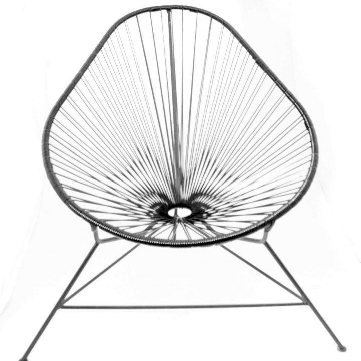 Black Acapulco chairs