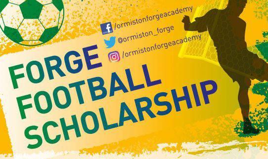 Forge Football Scholarship logo
