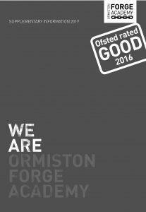 Ormiston Forge Academy Supplementary Book 2019/20