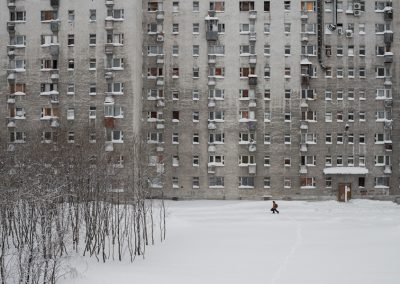Dormitory in Vorkuta. Общежитие в Воркуте.