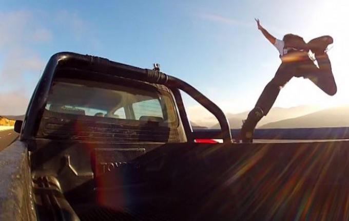 car jumping