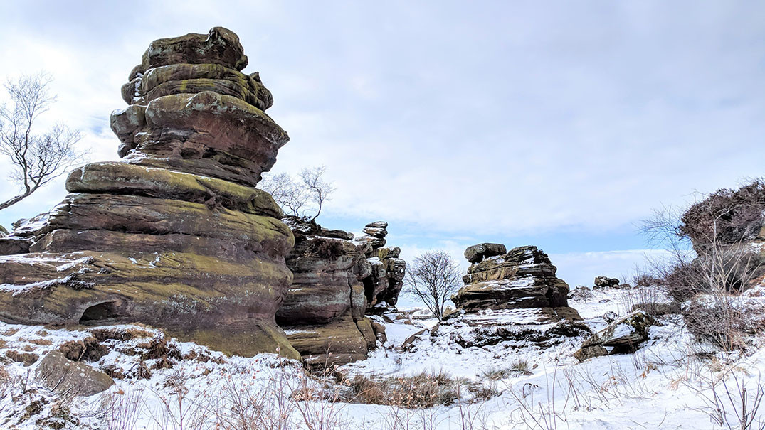 Brimham Rocks - Travel Junkie Girl