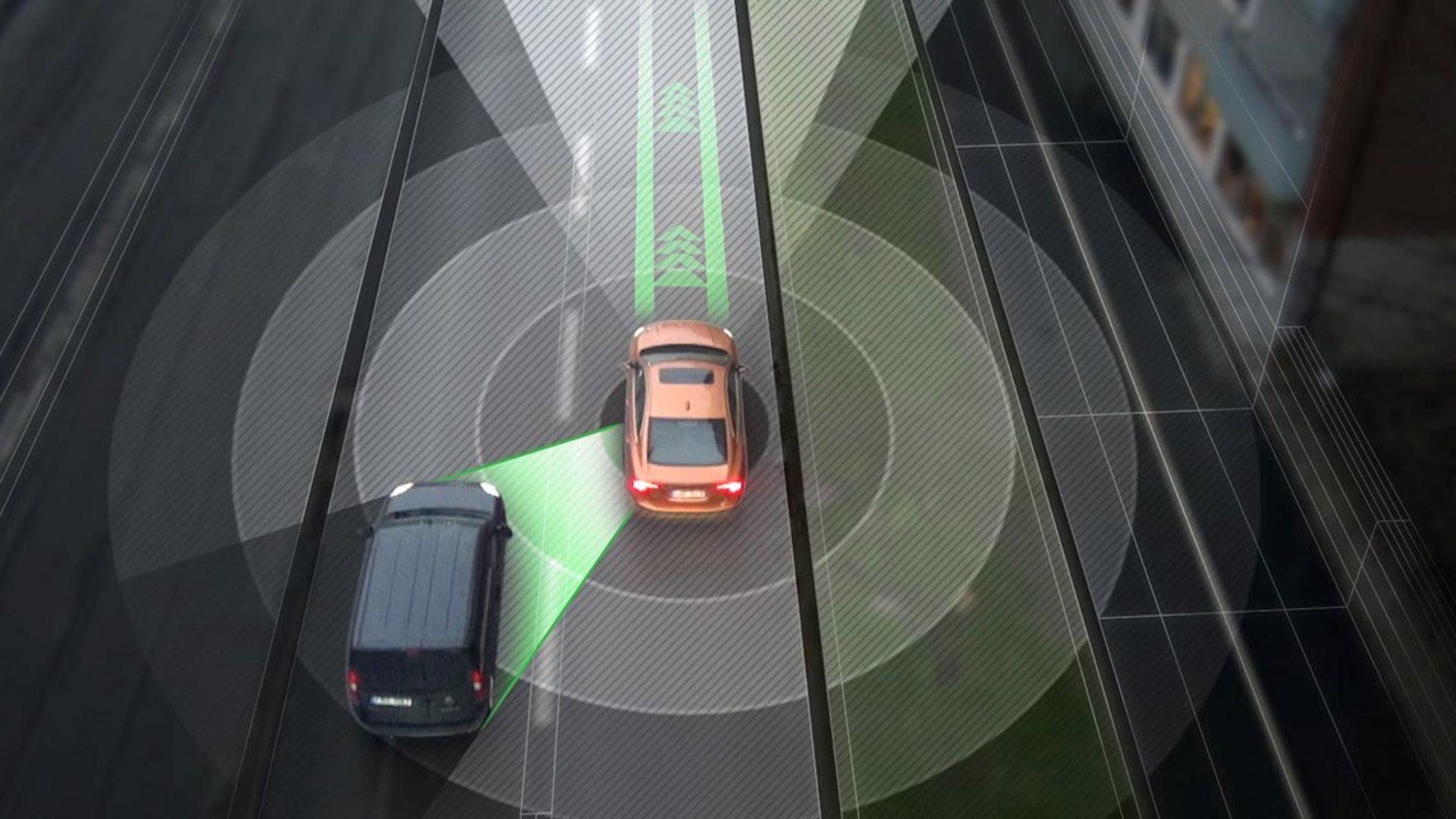 Volvo Self Driving Car
