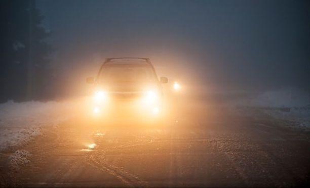 fog lights on car