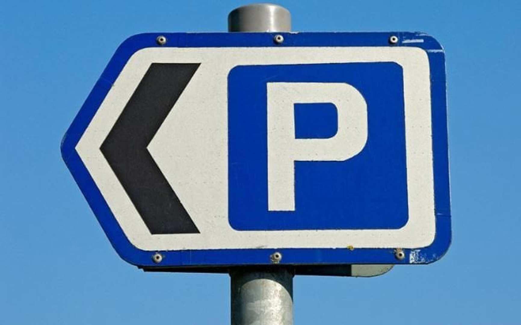 Parking Sign 2