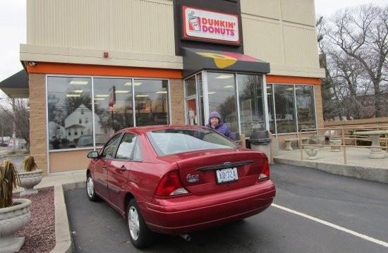 car dunkin donuts 2