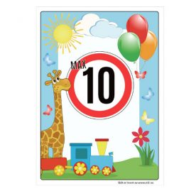 Barn leker max 10 km