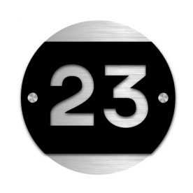 Husnummerskilt Tylldal i akryl og aluminium - Z House 07