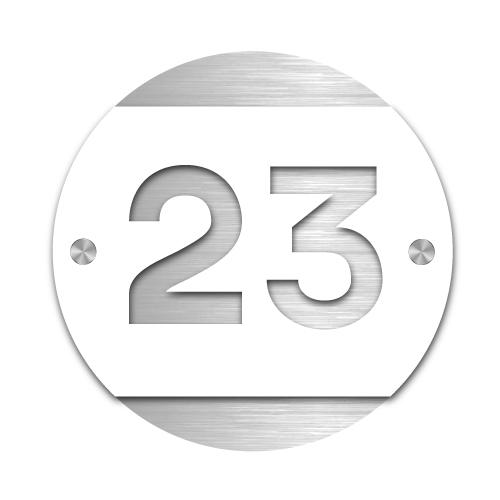 Husnummerskilt Tyldal i akryl og aluminium – Z House 07