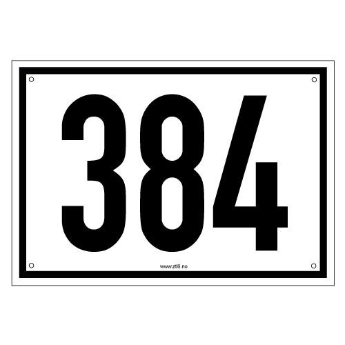 Godkjent husnummerskilt Grotli etter kommunale regler
