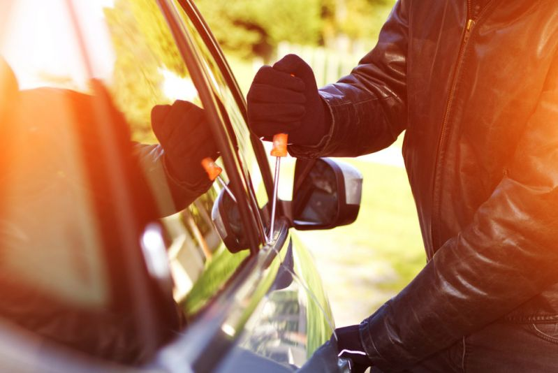 What happens if my car is stolen while I'm still paying finance?
